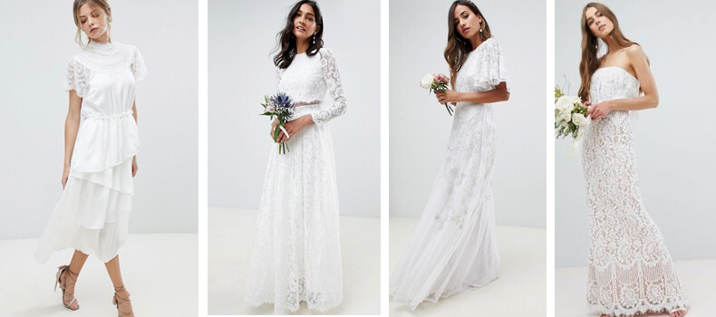 Wedding dresses from ASOS