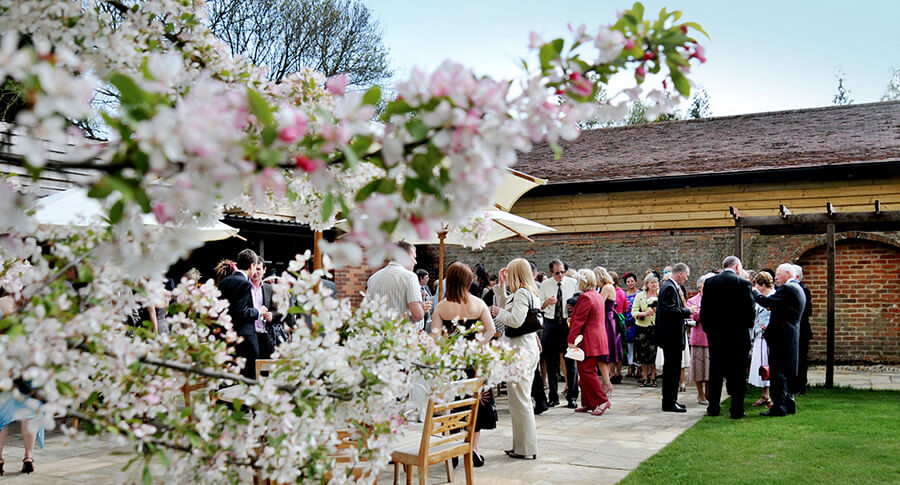 Blossom Garden at Woodhall Manor