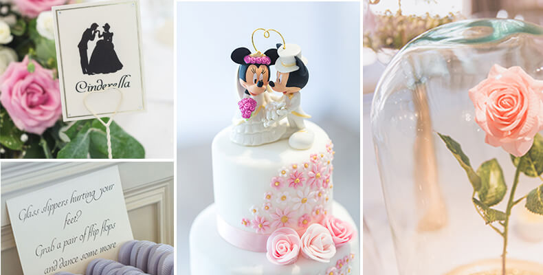 Disney style wedding theme
