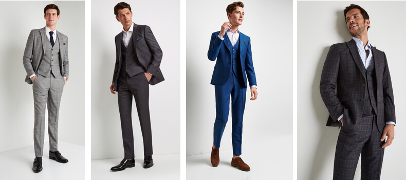 Wedding suits from Moss Bros