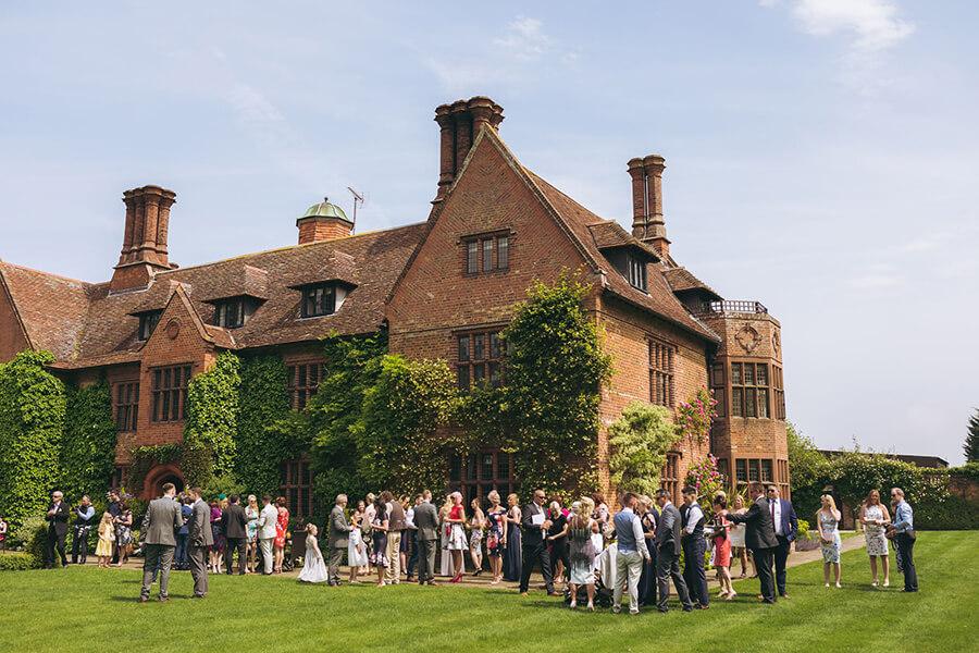 Woodhall Manor Outdoor Wedding