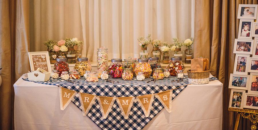 Wedding sweet selection