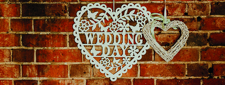 White cutout decoration at Woodhall Manor