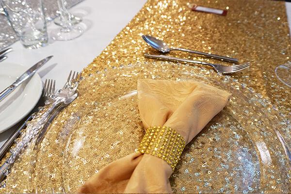 metallic wedding