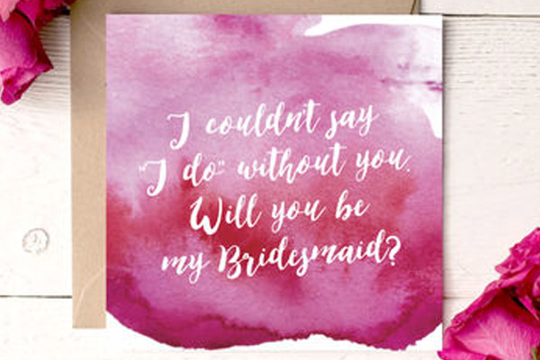 water colour wedding stationery