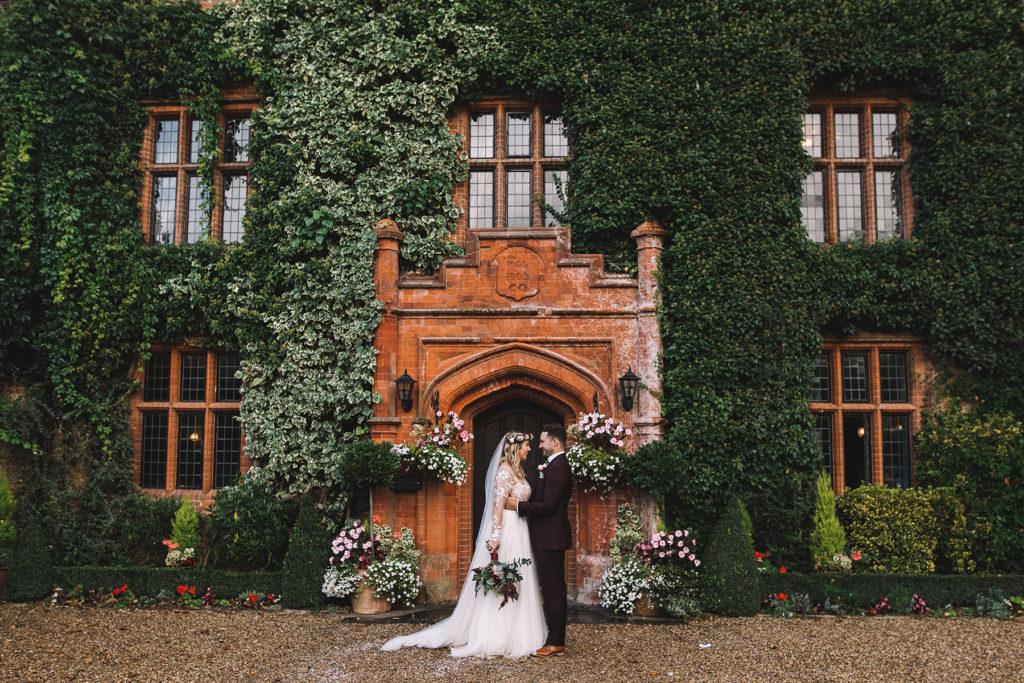The perfect winter wedding venue in Suffolk couple wedding 5